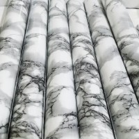 wallpaper sticker dinding marmer abu granit marble contact paper dapur