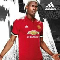 Jual jersey manchester united home 17/18 SIZE L dan XL Murah