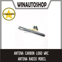 Antena Carbon Karbon logo WRC - Antena Radio Mobil Toyota Honda dll
