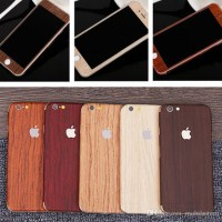 Jual IPHONE 6/6G/6S WOODEN PROTECTOR SKIN STICKER GARSKIN WOOD INSULATION Murah