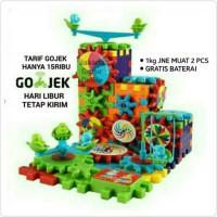 Promo FUNNY GEAR BRICK MAINAN EDUKASI ROBOT LEGO BERGERAK