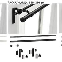 Jual IKEA RACKA Kombinasi Batang Gorden 120-210 cm produk berkualitas bagus Murah