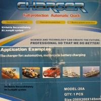 Oto Cas Accu CHARGER AKI Mobil Motor Truk 20 A Rayden 6V 12V 24V