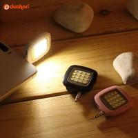 Lampu Lamp 16 LED Selfie Light Selfie Kamera HP Handphone Android Asli
