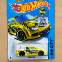 Hot Wheels Audacious Factory Sealed 2014 Yellow