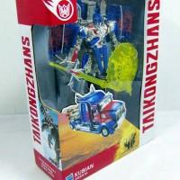Mainan Robot Transformer 4 optimus prime