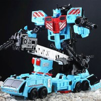 Transformers G1 Defensor Hotspot oversized 10 inches Toy Action Figure