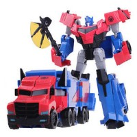 Transformers Robots in Disguise Optimus Prime 20cm Toy Action Figure N