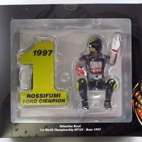 MINICHAMPS 312970246 - Valentino Rossi Figure GP125 Brno 1997 - 1/12
