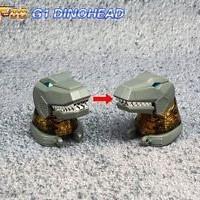 Fanstoys Grinder FT-08 G1 Dinohead Grimlock Head For Transformers TV01