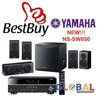 Paket Yamaha Home Theater 5.1 HTR-2067 , NS-PA150 ,YST-SW012