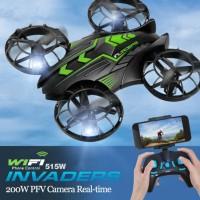 JXD 515W Quadcopter Drone Wifi dengan Kamera 0.3MP