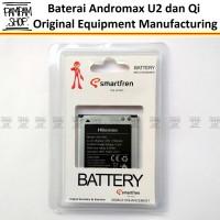 Baterai Smartfren Andromax Qi Q1 Original Oem 100% | Li38170a Batre