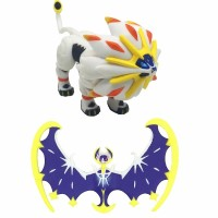 Pokemon Figure Solgaleo Figure Lunalar Set 2