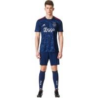 Jersey Baju Bola AJAX Amsterdam Away 17/18 1 Stel Baju + Celana GO