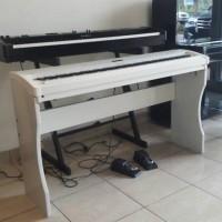 Piano digital Kawai es8 Paket Stand Kayu Hitam/Putih