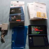 Jual New Nintendo 3DS XL Blue 64 GB IPS Murah