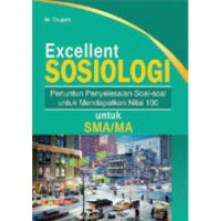 BUKU BANK SOAL EXCELLENT SOSIOLOGI SMA/MA/SMK