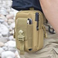 Jual Tas pinggang pria army tactical / dompet pinggang laki / waist bag Murah