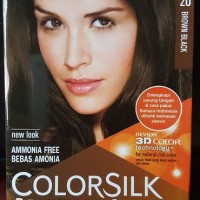 Pewarna / cat / semir Rambut Revlon no. 20 Brown Black
