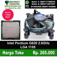 Processor Intel Pentium G620 2.60GHz LGA1155 + Fan