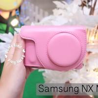 Casing Kamera Samsung NX Mini Leather Case