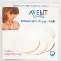 Jual AVENT BREAST PADS WASHABLE 6pcs . Murah