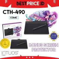'RESMI CTH-490 Wacom Intuos Draw Pen+Touch Small Comic CTH490 Manga K1