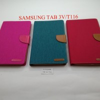 CANVAS DIARY CASE TYPE SAMSUNG TAB 3V/T116