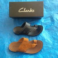 sandal pria original clarks  2 varian PREMIUM QUALITY!!