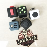 Jual Fidget Cube Premium Quality Toys Therapy ADHD Stress Reliever Murah