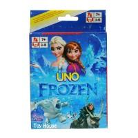 Harga mainan anak kartu uno karakter frozen uno card   Pembandingharga.com