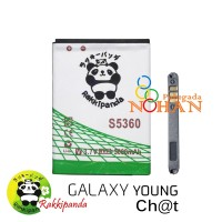 Baterai Rakkipanda For Samsung Young 2 G130 s5360 Double IC Protection