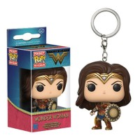 Funko POP wonder woman keychain