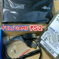hardisk 120gb external ps2
