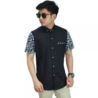 Sleeve Batik Vector Black