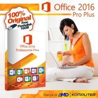 Office 2016 Pro Plus New Original License with flashdisk 8Gb