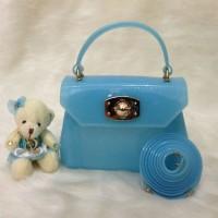 Jual Tas Wanita | Tas Import | Furla Mini Jelly LightBlue Murah