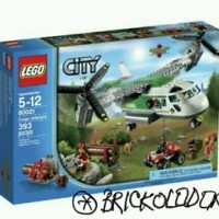 LEGO CITY Cargo Heliplane 60021 New Sealed Sets
