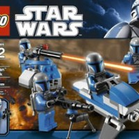 STAR WARS LEGO #7914 MANDALORIAN BATTLE PACK....NEW UNOPENED!