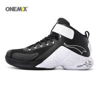 ONEMIX Men's Basketball Shoes Ankle Boots Anti-Slip Sneakers For Outdo