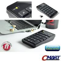 Cliptec Wireless Numpad Numeric Keyboard Numerik Keypad - RZK222
