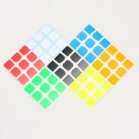 Stiker rubik 3x3 - Z sticker Qiyi The VALK 3 sticker Full Bright