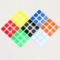 Stiker rubik 3x3 - Z sticker Qiyi The VALK 3 sticker Half Bright