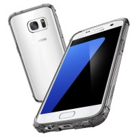 Jual Case SPIGEN Crystal Shell Original Untuk Samsung Galaxy S7 Flat Murah