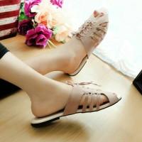 sandal nyaman warna mocca