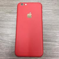 Garskin / Sticker carbon HP Apple Iphone 5 6 7 s  plus dll back only