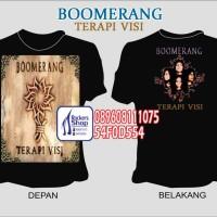 harga Kaos Boomerang Terapi Visi Cover Album Roy Henry Ivan Faried Boomers Tokopedia.com