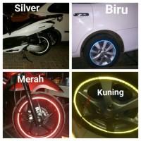Jual Sticker List Velg Pelek Motor Mobil Glow In The Dark Reflective Tape Murah
