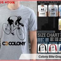 Colony Bike Graphic 1 - BAJU KAOS DISTRO PRIA WANITA ANAK OCEAN SEVEN